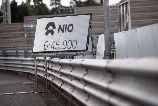 Nouveau record pour la Nio EP9 sur le Nürburgring