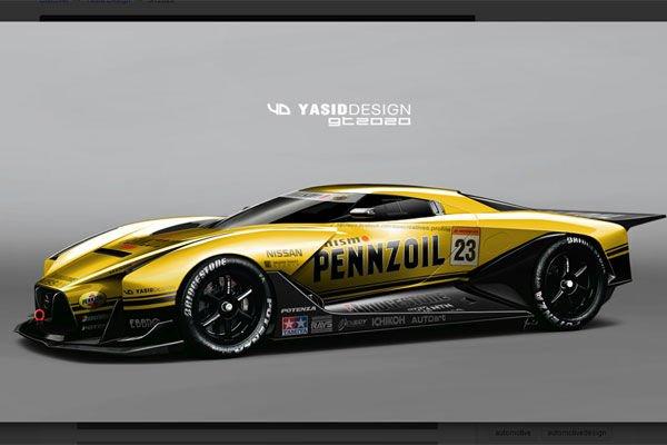 nissan 2020 vision gt par yasiddesign actualit automobile motorlegend. Black Bedroom Furniture Sets. Home Design Ideas