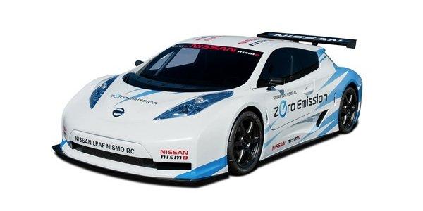 La Nissan Leaf Nismo RC aux 24 H du Mans