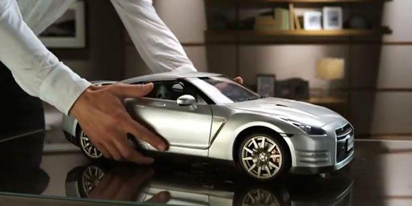 Fabriquez votre Nissan GT-R à l'échelle 1/8ème