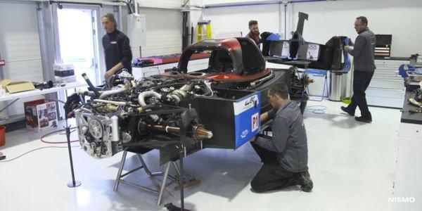 Le Mans : livrée spéciale pour la GT-R LM Nismo n°21