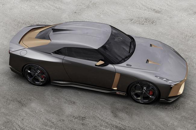 La Nissan GT-R50 en piste à Spa-Francorchamps