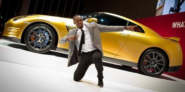 La Nissan GT-R Usain Bolt aux enchères