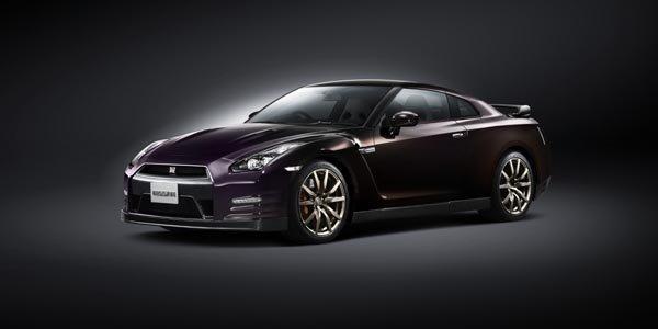 Série limitée Nissan GT-R Midnight Opal