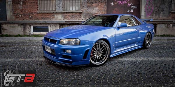 la nissan gt r34 de paul walker en vente actualit automobile motorlegend. Black Bedroom Furniture Sets. Home Design Ideas