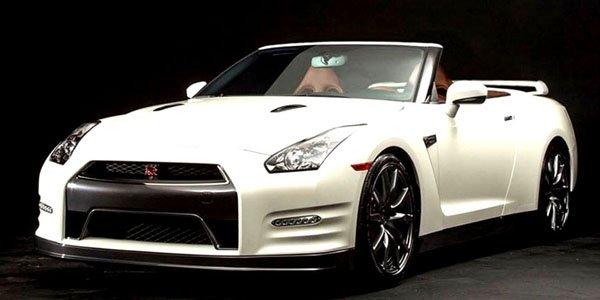 Une Nissan GT-R cabriolet signée NCE
