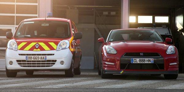 Les pompiers de Paris s'équipent de Nissan GT-R