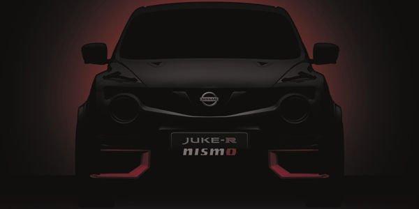 Un teaser pour le Nissan Juke-R Nismo