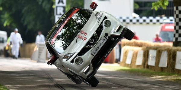 Record sur deux roues pour Nissan à Goodwood