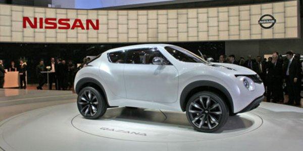 Le Nissan Qazana devient Juke