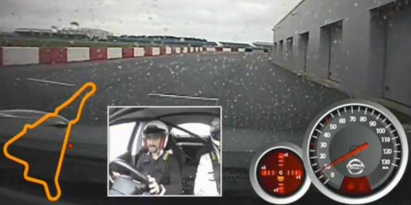 Le Nissan Juke-R à Silverstone