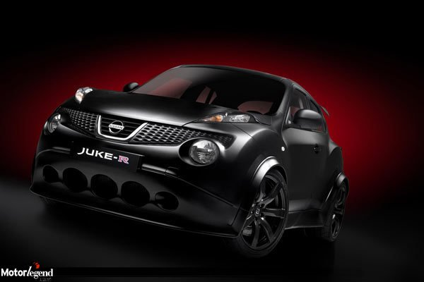 le nissan juke r pace car actualit automobile motorlegend. Black Bedroom Furniture Sets. Home Design Ideas