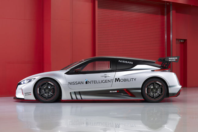 Nissan présente la nouvelle LEAF NISMO RC