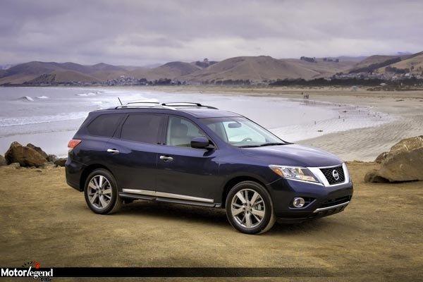 Nouveau Nissan Pathfinder : le nissan pathfinder d barque aux usa actualit automobile motorlegend ~ Gottalentnigeria.com Avis de Voitures