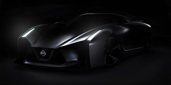 Le concept Nissan Vision Gran Turismo se dévoile