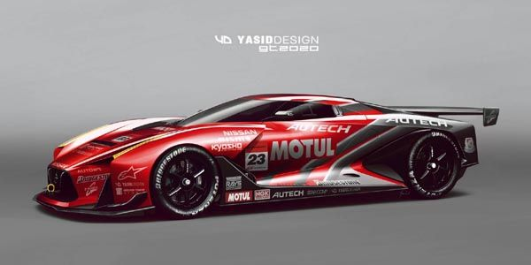 Nissan 2020 Vision GT par yasidDESIGN