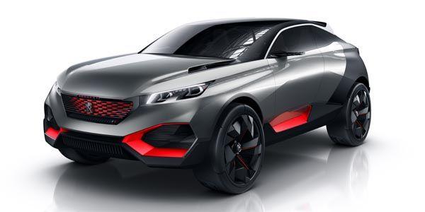 Concept Peugeot Quartz : Crossover sportif