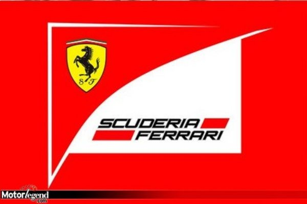 f1 le nouveau logo de ferrari actualit automobile motorlegend. Black Bedroom Furniture Sets. Home Design Ideas