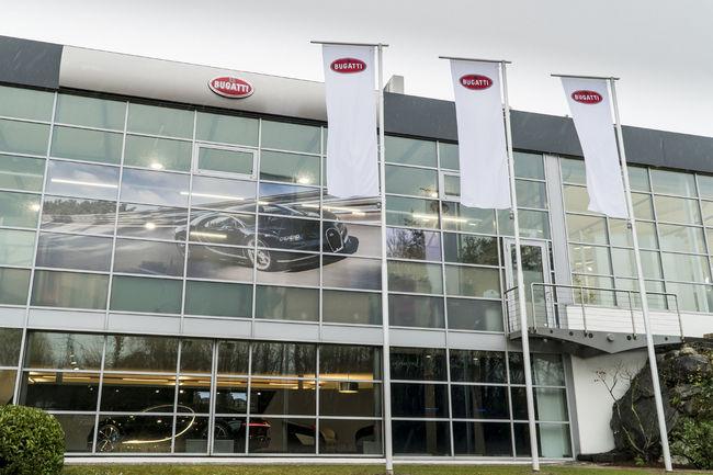 Nouveau showroom Bugatti à Genève