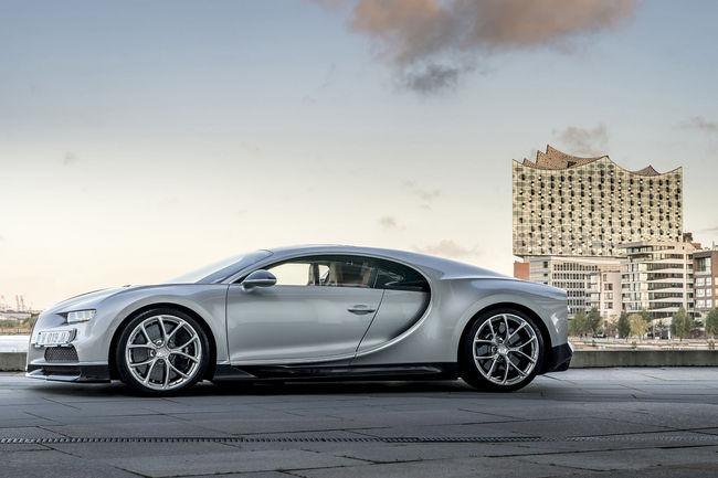 Bugatti ouvre un nouveau showroom à Hambourg