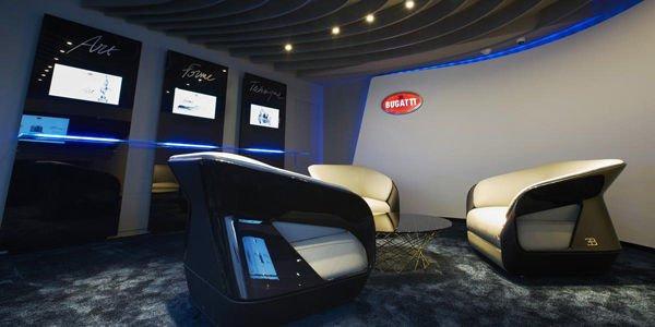 Nouveau showroom Bugatti à Tokyo