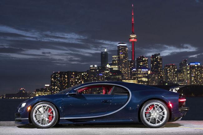 Nouveau showroom Bugatti à Toronto