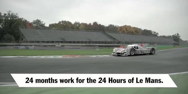 Nouvelles images de la Porsche 919 Hybrid