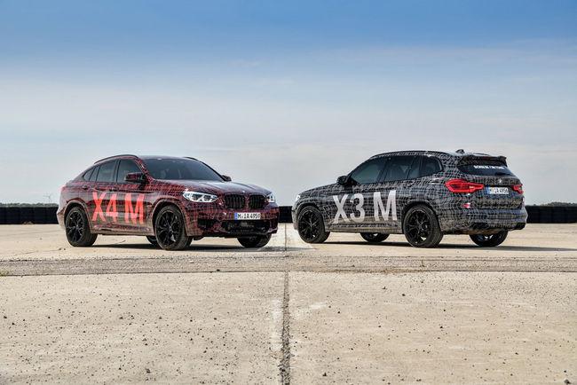Nouveaux teasers pour les BMW X3 M et X4 M