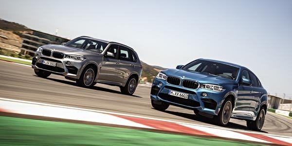 Nouveaux BMW X5 M et X6 M 2015
