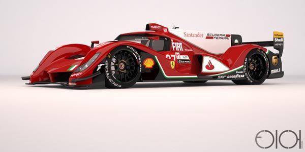 Une nouvelle étude de Ferrari LMP1