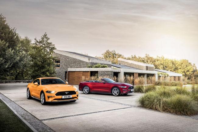 Nouvelle Ford Mustang : jusqu'à 450 ch sous le capot
