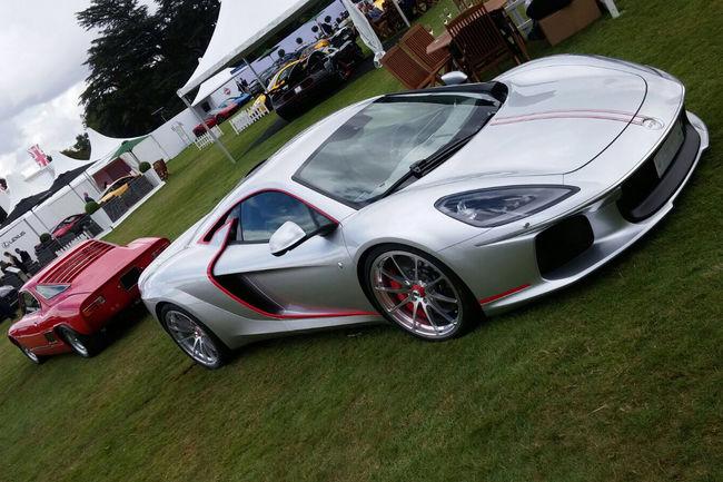 ATS Automobili présente sa GT à Londres