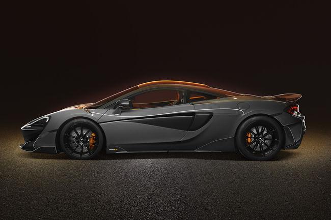 McLaren lève le voile sur la nouvelle 600LT