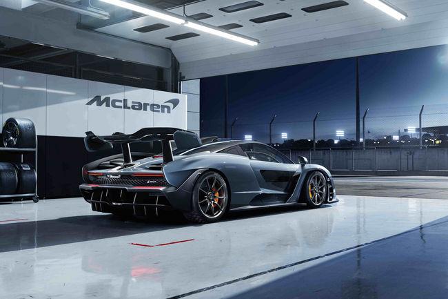 Nouvelle McLaren Senna : extrême
