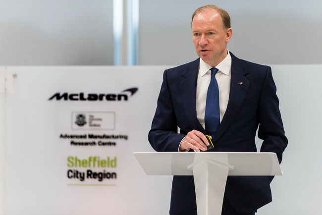 McLaren va produire ses châssis à Sheffield