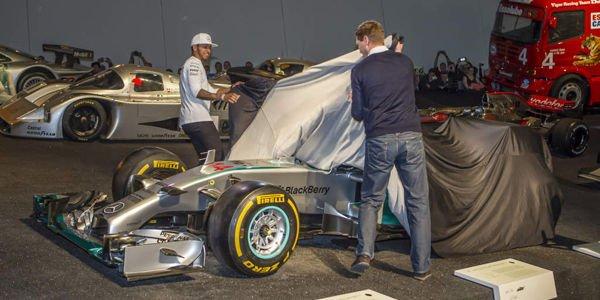Deux nouvelles venues au Musée Mercedes