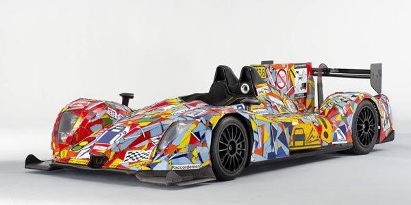 OAK dévoile sa Morgan-Nissan Art Car