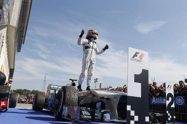 Offrez-vous la F1 W04 de Lewis Hamilton