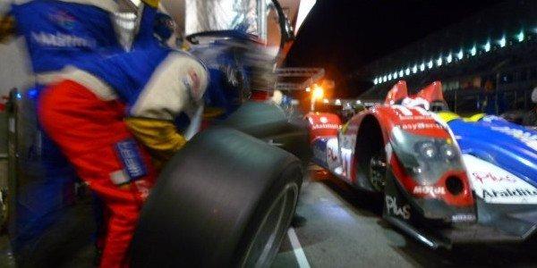 Olivier Panis en essai avec Peugeot