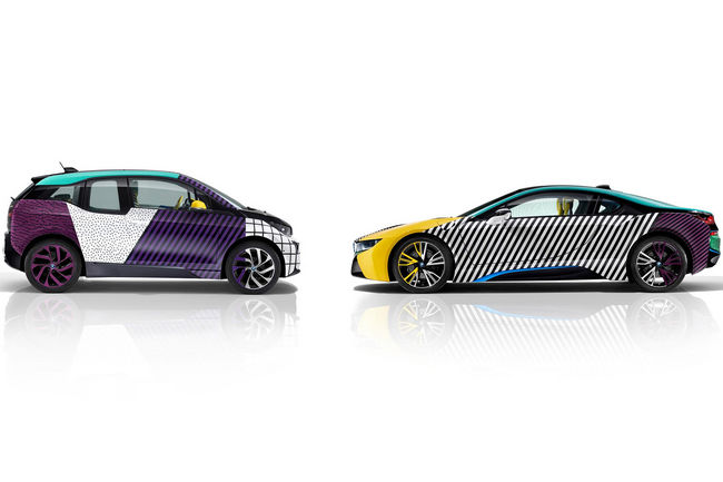BMW i3 et i8 MemphisStyle par Garage Italia Customs