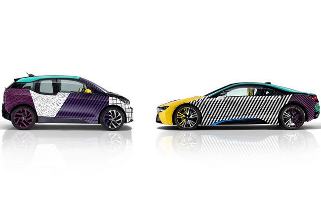 BMW i3 et i8 MemphisStyle par Garage Italia Customs