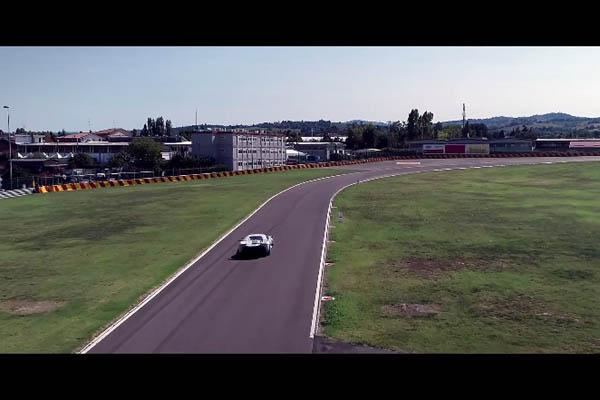 One-off Ferrari Prototipo en approche