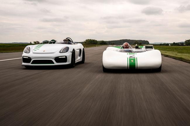 One-off Porsche Boxster Bergspyder