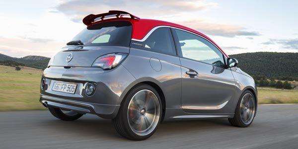 L'Opel Adam S annonce le tarif