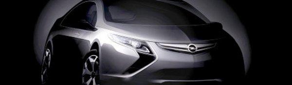 Opel Ampera : la Chevy Volt européenne