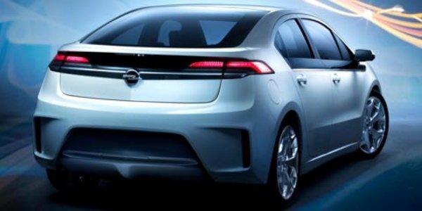 Le tarif de l'Opel Ampera