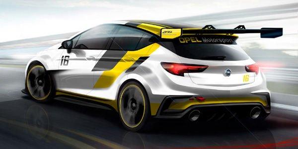 Une Opel Astra pour contrer la Golf TCR