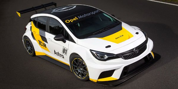Opel Motorsport dévoile son Astra TCR