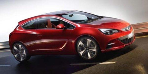 Lotus appelé pour l'Astra coupé OPC