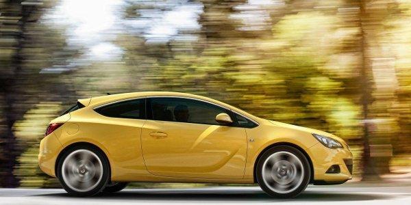 Opel Astra GTC, à partir de 21 400 €